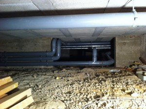 MATTHIEU ARTISAN plombier - Inversion du sens des évacuations des eaux usées